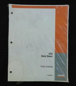 Genuine Case 435 Skid Steer Uni Loader Tractor Parts Manual Catalog Mint Sealed