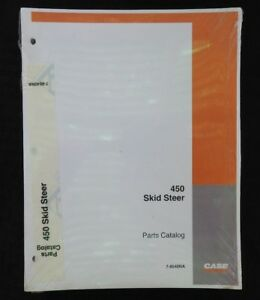 Genuine Case 450 Skid Steer Uni Loader Tractor Parts Manual Catalog Sealed Minty