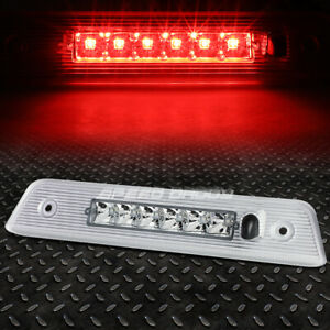 For 08 12 Jeep Liberty Led Third 3rd Tail Brake Light Stop Parking Lamp Chrome