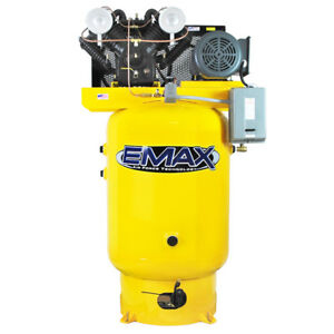 Emax Ep10v120v3 10 Hp 3 phase 120 Gallon Industrial Plus Vertical Air Compressor