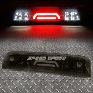 For 14 18 Silverado Sierra Tinted 3d Led Third 3rd Tail Brake Light W Cargo Lamp