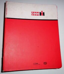 Case Ih 8570 Baler Accumulator Service Repair Shop Workshop Manual Binder