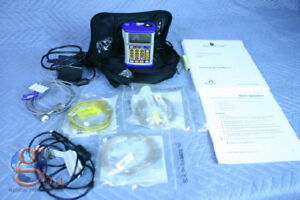 New Hospira Gemstar Infusion Pain Management Pump W Printer Bolus Power Cable