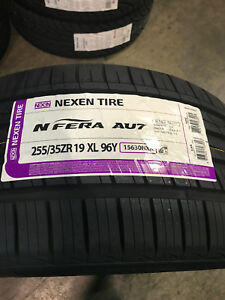 2 New 255 35 19 Nexen N Fera Au7 Tires