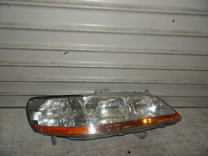 1998 2000 Honda Accord Sedan 4 Door Oem Right Passenger Headlight Factory