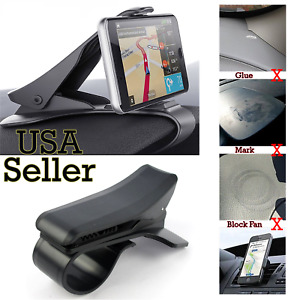 Car Dashboard Mount Holder Stand Hud Design Cradle For Cell Phone Gps Universal