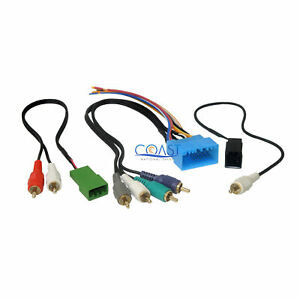 Car Radio Stereo Amplified Retention Wire Harness For 2003 2011 Honda Element