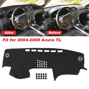 For Acura Tl 2004 2005 2006 2007 2008 Car Dash Cover Dash Mat Board Pad Carpet