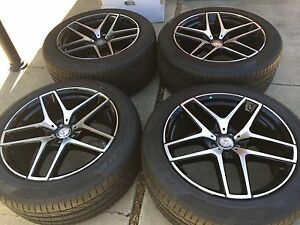 21 New 2017 Mercedes Amg Gle Ml Oem Factory Wheels Tire Gle63 Gle450 Ml63 Ml550