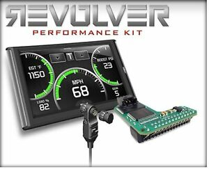 Edge 14105 Nvk4 Revolver Performance Kit W cts2 switch For 99 01 F250 f350 7 3l