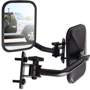 Side View Mirror Fits 97 18 Jeep Wrangler Black Driver Passenger Quick Release