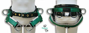 Buckingham Tree Climber Saddle 4 D Rings Wide Padded Leather Back s l Xl