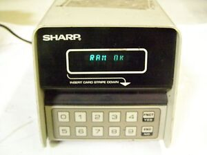 Sharp Control Access System Vendamat System Model Sf 5000da
