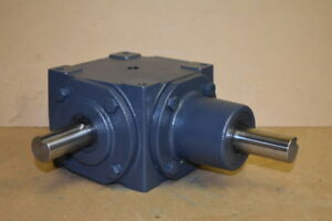 Bevel Gear Drive Right Angle Metric 1 1 Up To 28hp 165m Hub City