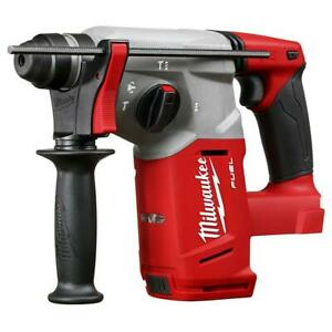 Milwaukee 2712 20 M18 Fuel 18 volt 1 inch Sds Plus Rotary Hammer W Depth Rod