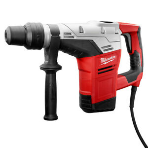 Milwaukee 5317 21 120v Ac 1 9 16 inch Sds Max Rotary Hammer With Side Handle