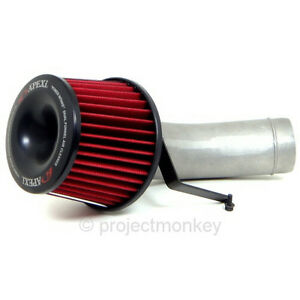 Apexi Power Intake Dual Funnel Air Filter Fits Honda 92 96 Prelude Bb1 Bb4 H22