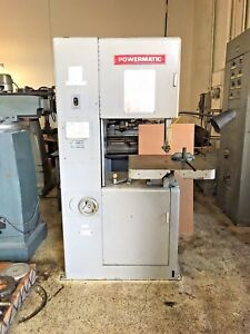 Powermatic 20 Vertical Band Saw Model 87 Sn 48730