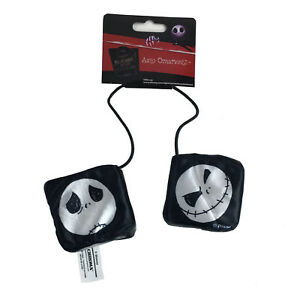 New Nightmare Before Christmas Car Truck Rear View Mirror Hanging Dice Ornament