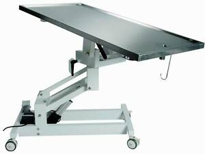 New Veterinary Surgical Operating Table Ft 827 Electric Lift 360 Turn Table Top