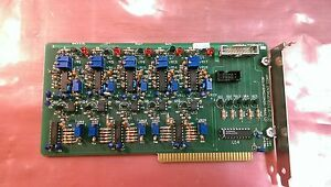 Semiconductor Equipment Corp 4496 061 Isa Motion Controller Board