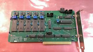 Semiconductor Equipment Corp 4496 020 Isa Motion Controller Board