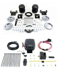 Air Lift Control Air Spring Single Air Compressor Kit For Sierra 2500 Hd 4wd