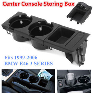 Front Center Console Drink Cup Holder Storing Box For Bmw E46 3series 1999 2006