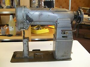 Consew 282r 1 Postbed Needle Feed Industrial Sewing Machine New 3 4 Hp Servo Mot