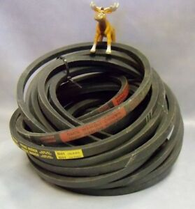 Bando Power King Thermoid Prime Mover B 81 5l840 V belt Lot Of 8