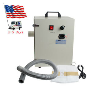 Dental Vacuum Dust Collector Collecting Cleaner Table Sandblasters Polishing Usa