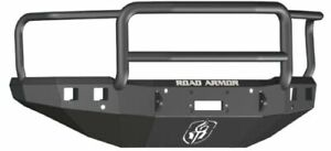 Road Armor 315r5b Front Black Lonestar Guard Winch Bumper For Silverado 2500