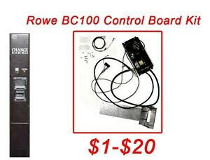 Rowe Bc100 Bc150 Dollar Bill Changer Board Upgrade Kit To Mars Mei Validator