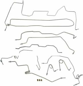 1995 98 Chevrolet Gmc K1500 Std Cab Long Complete Brake Line Kit Set Lines Ss