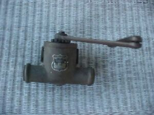 Vintage Brass Door Closer Lcn C 71 early 1900s