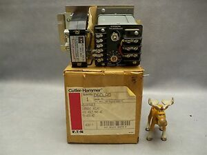 Cutler hammer D60lao Adjustable Current Relay W D60lt1 Transformer 600v Ser A2
