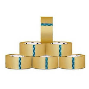 240 Rolls Clear Packing Tape Packaging Tapes 3 inch X 110 Yards 1 9 Mil