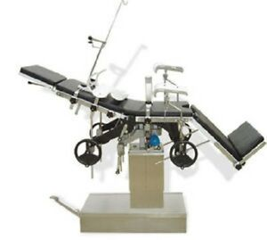 New Surgical Operating Table 3001a X ray Capable Multipurpose Manually Operated