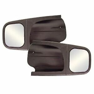 Cipa 11500 Black Custom Towing Mirrors For Ford