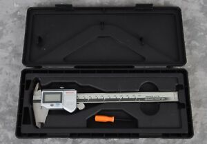 Mint Mitutoyo Absolute Digital Caliper Tool 500 672 Cd 6 Ps Ip66 Coolant Proof