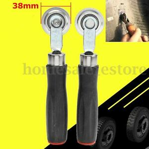 2pcs Tire Patch Repair Stitcher Ball Bearing Roller Tire Tool Plastic Handle