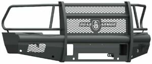 Road Armor 410vf6b Front Black Full Guard Vaquero Bumper For Ram 2500 3500 4500