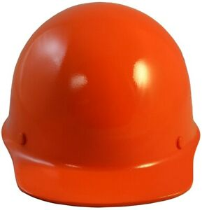 Msa Skullgard Cap Style With Staz On Suspension Orange