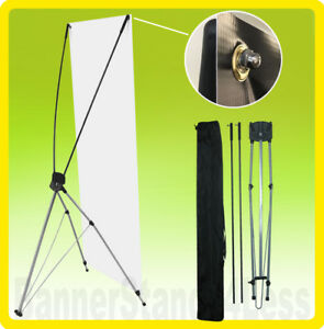 2 Pack 31x71 Tripod X Banner Stand Trade Show Sign Display Xstand 80x180