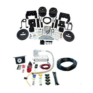 Air Lift Suspension Air Bag Single Path Leveling Kit For F 350 250 Super Duty