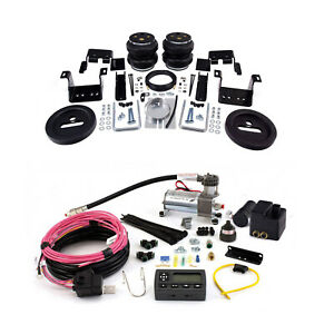 Air Lift Suspension Air Bag Wireless Air Compressor Kit For Silverado 3500 Hd