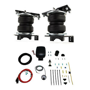 Air Lift Control Air Spring W single Path Compressor Kit For F 250 Super Duty