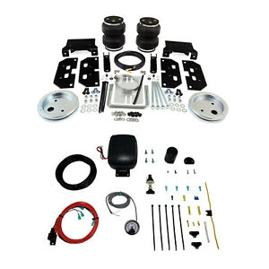 Air Lift Control Air Spring W Single Path Compressor Kit For Ram 3500 2500 4wd