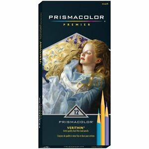 Prismacolor Premier Verithin Artist Quality Hard Thin Lead Pencils - Colouring