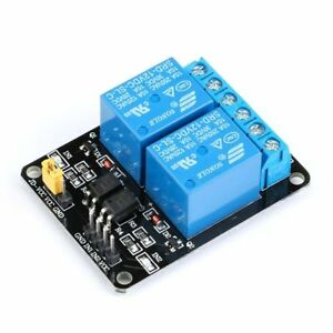 5v 12v 1 8 Channel Relay Module Optocoupler Isolated Low level Trigger 51avr Il